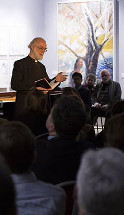 "Theologian and author Lord Rowan Williams delivers a meditation on T.S. Eliot's ""Four Quartets."""