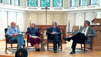 Hauerwas, Davis, Hays, and Jones discuss scriptural imagination.