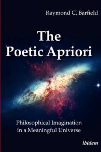 Image of universe on cover of The Poetic Aprior book