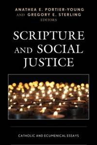Cover image of candles for Scripture and Social Justice: Catholic and Ecumenical Essays book