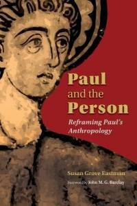 Image of Apostle Paul on cover of Susan Eastman's new book