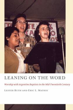 Image of women singing on the cover of Professor Lester Ruth's new book