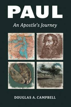 Cover of Professor Douglas Campbell's new book showing image of the apostle Paul