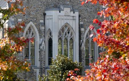 Exterior photo of Goodson Chapel