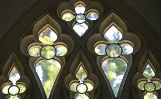 Goodson Chapel windows