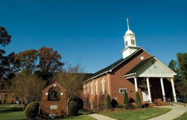Photo of UMC rural church