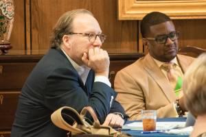 BOV members listen during 2019 meeting