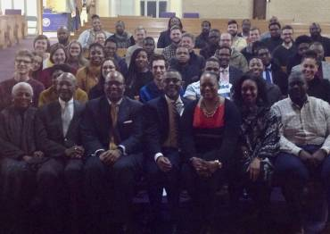 Dr. James A. Forbes Jr.'s class at Saint Joseph's AME Church in Durham.