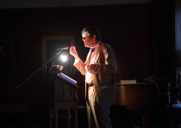 Celebrated Irish poet Michael O'Siadhail gives a poetry reading at Duke Divinity School.