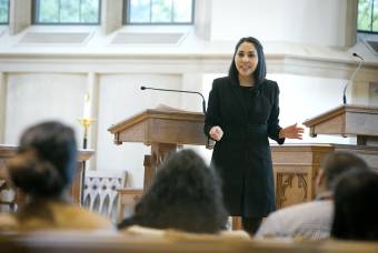 preaching in goodson chapel