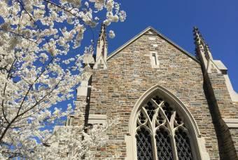 spring flowers duke divinity school