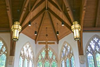 Cross in Goodson Chapel