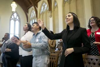 Worship in Goodson Chapel