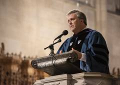 Greg Jones preaches in Duke Chapel