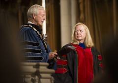 Dean Elaine Heath installed as dean during opening convocation 2016