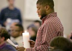 A service of Litany, Lament, and Liberation focusing on tragedies in Ferguson, Mo., New York City, and others across the nation.