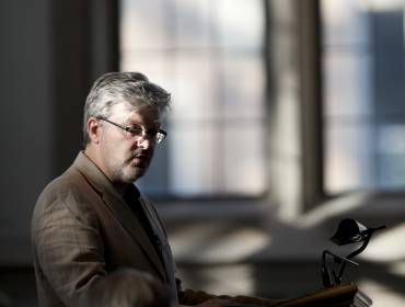 James MacMillan lectures at Duke