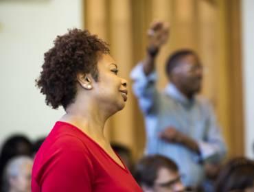 worship in senior cross service