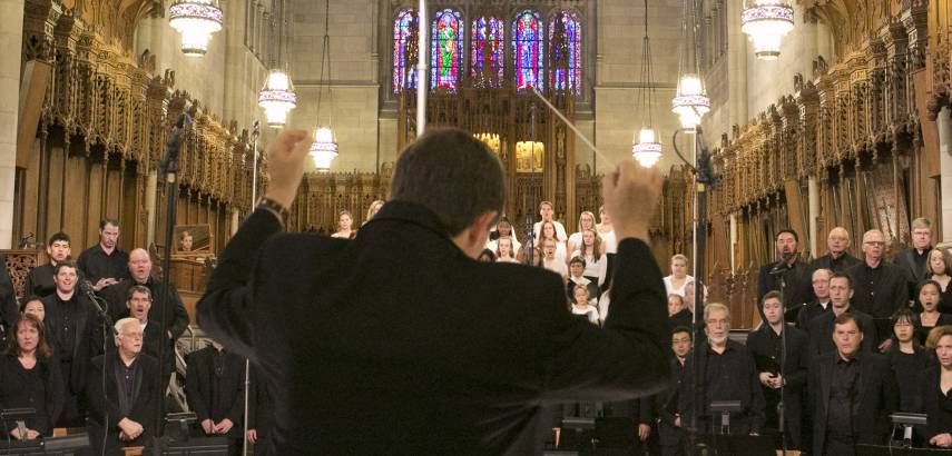 St. Luke Passion at Duke Chapel