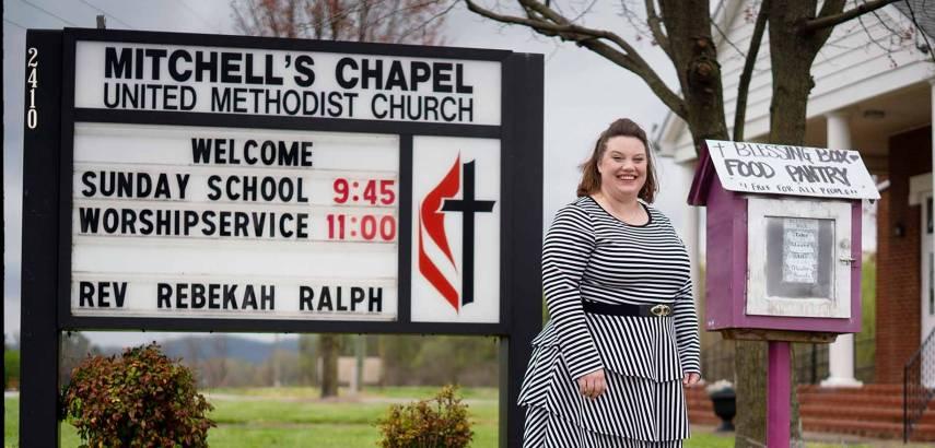 Graduate Rebekah Ralph Serves at a UMC